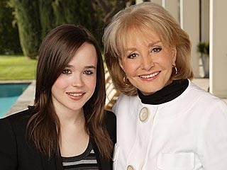Barbara Walters Reveals Her Oscar-Night Guests | Barbara Walters, Ellen Page
