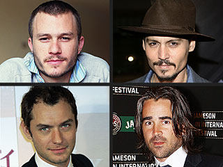 Jude, Johnny & Colin to Assume Heath's Last Role | Heath Ledger