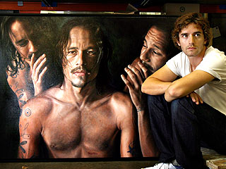Heath Ledger Portrait Up For Australian Art Prize