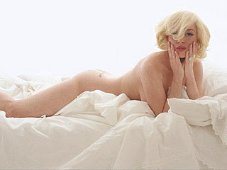 Lindsay Lohan Poses Nude – as Marilyn Monroe | Lindsay Lohan