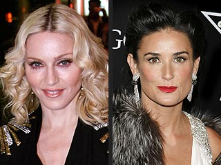 Madonna, Demi Moore Throwing Exclusive Oscar Bash | Demi Moore, Madonna