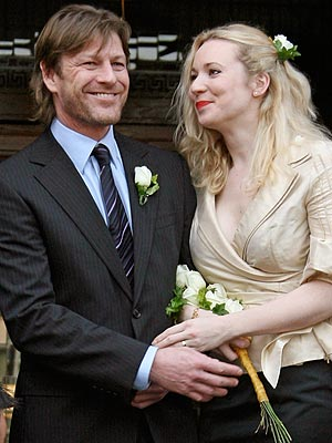 Sean Bean Ties Knot in London