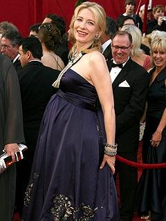 Cate Blanchett's Baby Slept Through Carpet  Chaos | Cate Blanchett