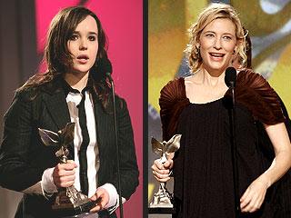 Ellen Page, Cate Blanchett Take Home Indie Spirits | Cate Blanchett, Ellen Page
