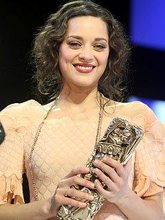 'The Kid' Marion Cotillard Wins in Paris
