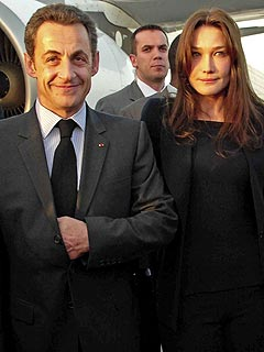 Carla Bruni Visits Africa as France's First Lady