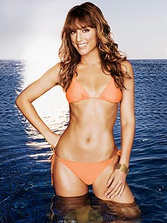 Jennifer Esposito Shows Off Her Physique in Shape