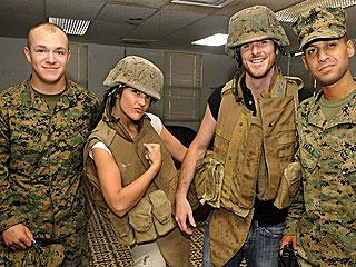 Minka Kelly & Dave Annable Visit Guantanamo Bay
