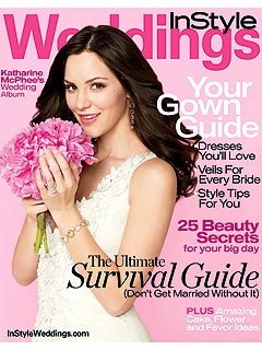 Katharine McPhee Gives Wedding Advice