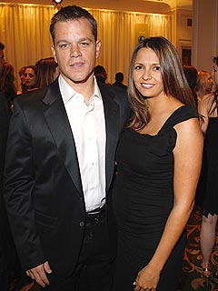 Matt Damon's Kids Will Be World-Wise
