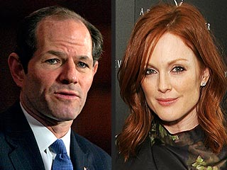 Julianne Moore Fumes Over Spitzer 'Embarrassment'