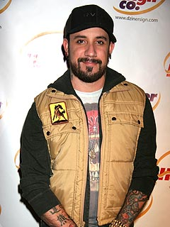 Backstreet Boy A.J. McLean Goes Solo