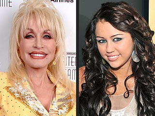 Dolly Parton Calls Miley Cyrus a 'Little Elvis'