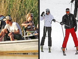 Princes on Vacation: Sun for Harry, Snow for William
