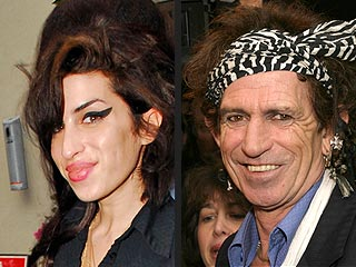 Amy Winehouse's No. 1 Fan? Keith Richards! | Amy Winehouse, Keith Richards