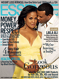 Laila Ali and Husband Curtis Conway Expecting a Baby | Laila Ali