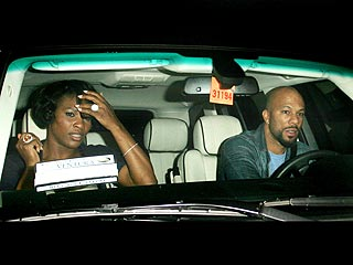 Common Steps Out with Serena Williams | Common, Serena Williams