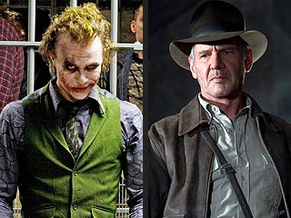 Movie Fans Eager to See Heath Ledger and Indy