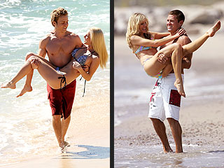 Heidi vs. Marla: Whose PDA Is More Real? | Heidi Montag, Marla Maples