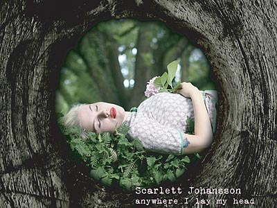 Scarlett Johansson's Album Cover Art Revealed | Scarlett Johansson