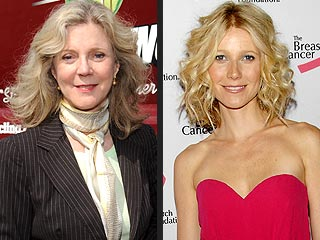 Blythe Danner on Gwyneth & Chris: They're 'Happily Married' – Really! | Blythe Danner, Gwyneth Paltrow