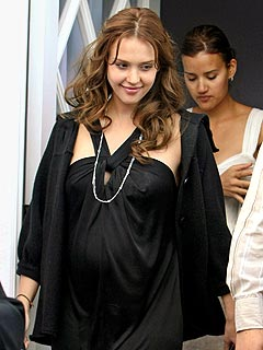 Jessica Alba Reveals at Baby Shower: It's a Girl!