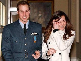 Prince William Celebrates His 'Wings' with Kate