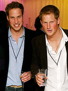 William and Harry Help Throw a Royal Bachelor Party