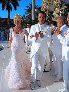FIRST LOOK: Photo from Ivana Trump's Wedding
