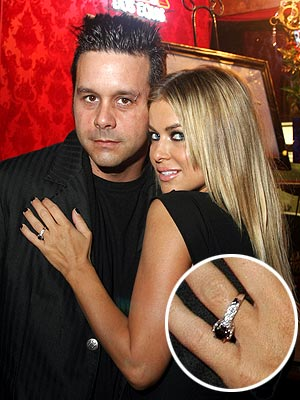 Check out Carmen Electra 39s Engagement Ring Carmen Electra