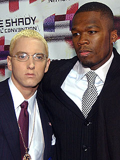 eminem 50 cent together