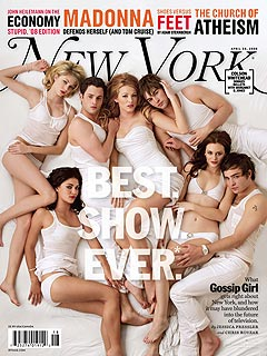 Gossip Girl Stars Strip Down for Sexy Cover Shoot