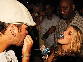 Jessica Simpson and Tony Romo's Cake-Licking Birthday Celebration