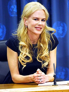 Nicole Kidman Campaigns To Stop Violence Against Women
