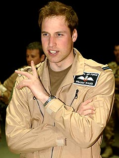 Prince William Flies Secret Mission to Afghanistan