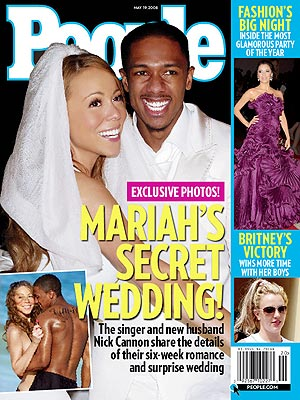 Mariah Carey wedding photos