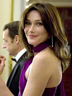 Carla Bruni-Sarkozy: My Music Keeps My Husband Up at Night