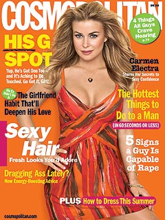 Carmen Electra on Attracting a Man: Be Prepared