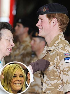 Prince Harry Gets Medal as Chelsy Cheers Him On