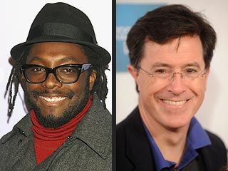 Stephen Colbert and will.i.am Win Webby Awards | Stephen Colbert, Will I Am