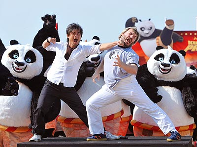 Jack Black Kung-Fu-Kicks Off Cannes