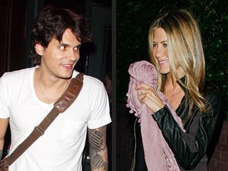 John Mayer Talks Sleeping Arrangements – While Jen Looks On