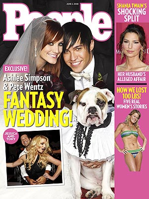 Ashlee Simpson Wedding Hair Style
