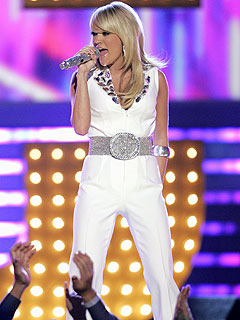 Carrie Underwood Nervous About People's Choice | Carrie Underwood