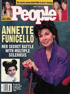 cvr annette funicello Annette Funicello Dies at 70 After Long Battle with MS
