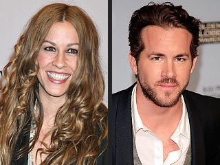 Alanis Morissette  Ryan Reynolds on Alanis Morissette And Ryan Reynolds