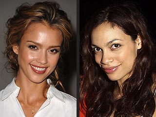 Costar: Jessica Alba Will Be 'Role Model' for Daughter | Jessica Alba, Rosario Dawson