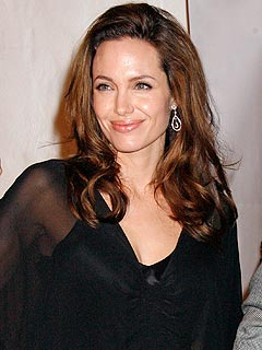 Angelina Leaves Hospital with Newborn Twins | Angelina Jolie