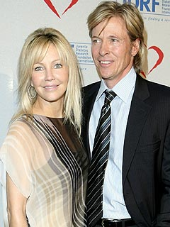 Heather Locklear Gets a Visit from Jack Wagner