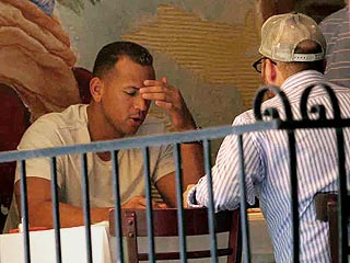 Alex Rodriguez Dines with Kabbalah Leader